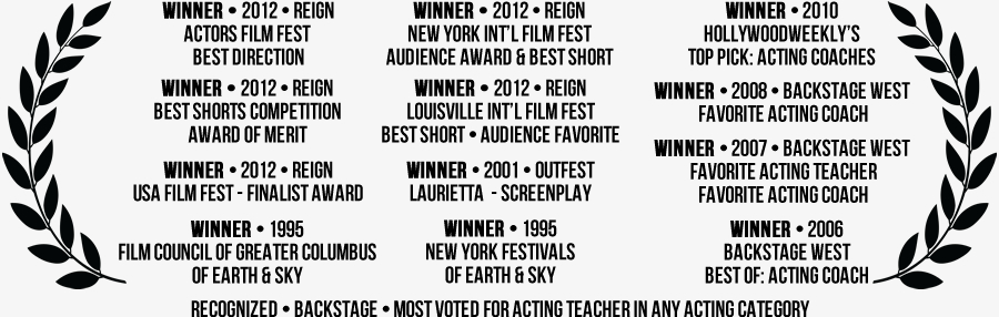 Laurels - Awards won by Kimberly Jentzen as a coach and filmmaker