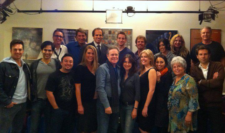Talent Manager Paul Bennett visits Kimberly Jentzen's Class